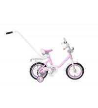 """Велосипед Black Aqua Princess 12""""; 1s, с ручкой"""